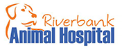 Riverbank Animal Hospital Mobile Logo